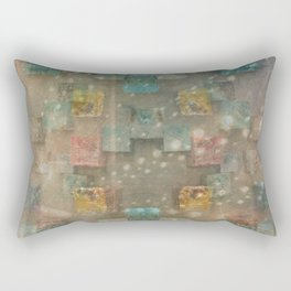 Dreamy Ceramic Tiles Rectangular Pillow