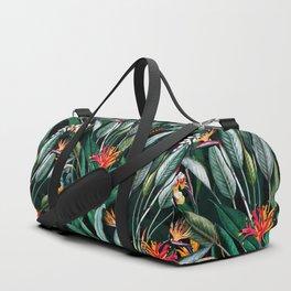 Midnight Garden V Duffle Bag