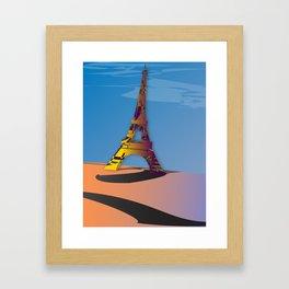 The Eiffel Framed Art Print