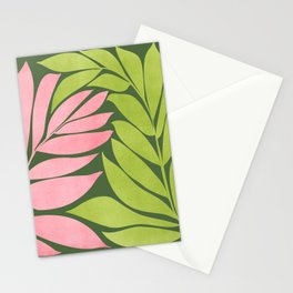 Spring Flora / Pink and Green Palette Stationery Cards