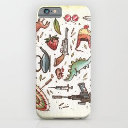 Collection of Shiny Objects iPhone Case