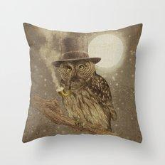 Night Smoke Throw Pillow