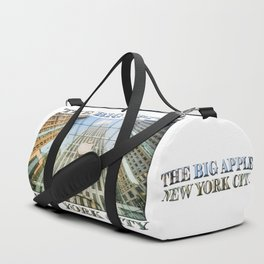 Big Apple in the Big Apple Duffle Bag