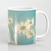 forever young Mugs featuring Forever Young by Cassia Beck