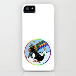 Pengicorn iPhone Case