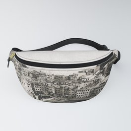 vernazza {b&w Fanny Pack