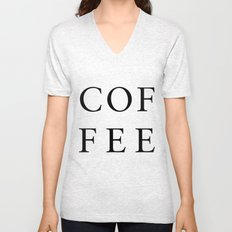#COFFEE Unisex V-Neck