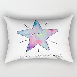 This Much Rectangular Pillow