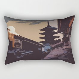 Journey to the Past Rectangular Pillow
