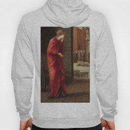 "Edward Burne-Jones ""Danaë Watching the Building of the Brazen Tower"" Hoody"