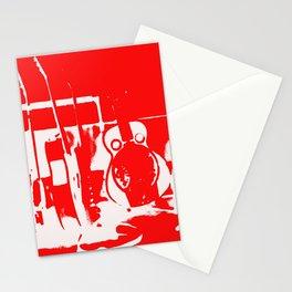 Sun Studio Guitars, Red Stationery Cards
