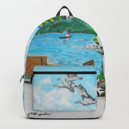 Summer on the Bay Backpack
