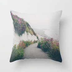 Ocean Fog 2 Throw Pillow