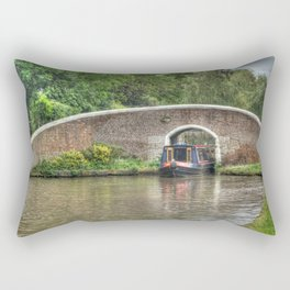 Fradley junction Rectangular Pillow