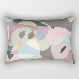 Digital Automatism #1 Rectangular Pillow