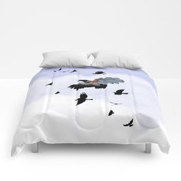 Cyborg Bird Comforters
