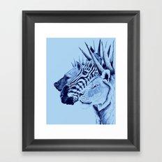Mohawks of the Wild Kingdom Framed Art Print