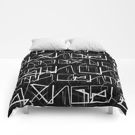 Cholo Hieroglyphics Comforters