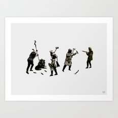 Becoming Masters of the Situation Art Print