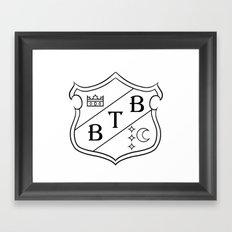 Barton Crest Framed Art Print