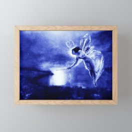 Midnight Angel Framed Mini Art Print