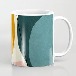shapes geometric minimal painting abstract Coffee Mug