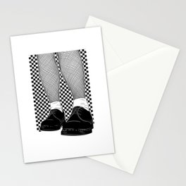 Reggae and Ska design for Rude Boys, Mods & Skin heads Stationery Cards