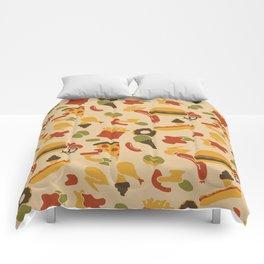 Fast Foodouflage Comforters