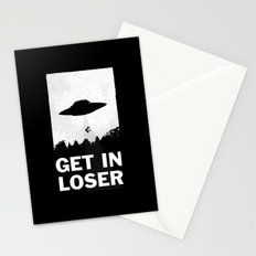 Get In Loser Stationery Cards