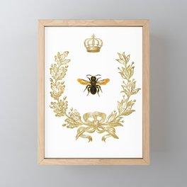 Queen Bee Framed Mini Art Print