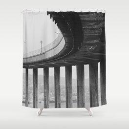 Tromsø bridge 1 Shower Curtain