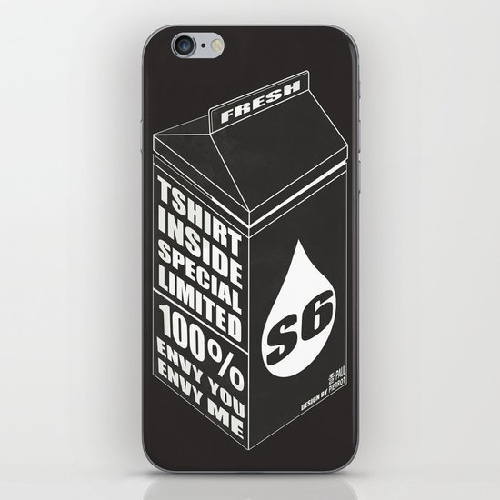 S6 SPECIAL LIMITED PKG iPhone & iPod Skin