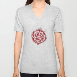 Echo of a Rose Unisex V-Neck