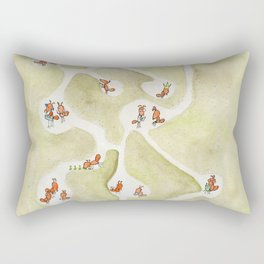 In the Hive Rectangular Pillow