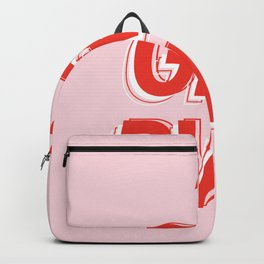 GRL PWR - Girl Power 10 (in Red) Backpack