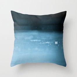 Rain Drops like Popcorn Throw Pillow