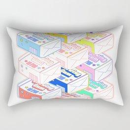 Chewing Gum Pack Rectangular Pillow
