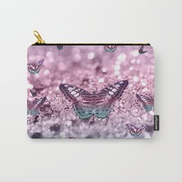Pastel Unicorn Butterfly Glitter Dream #2 #shiny #decor #art #society6 Carry-All Pouch