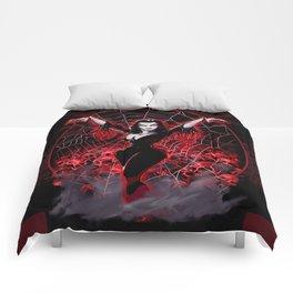 Web of Vampira Comforters
