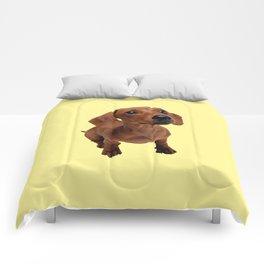 Cute Dachshund Comforters