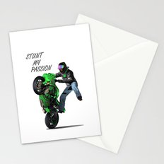 Stunt My Passion Stationery Cards