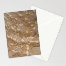 Chisel shot Stationery Cards
