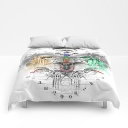 Zodiac Strings Comforters