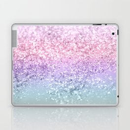 Unicorn Girls Glitter #1 #shiny #pastel #decor #art #society6 Laptop & iPad Skin