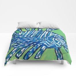 Lion Fish 2, a pretty predator & invasive species Comforters