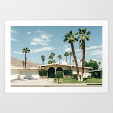 Memory form California Art Print