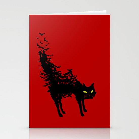Freaking Meow Stationery Cards