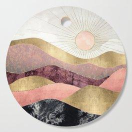 Blush Sun Cutting Board