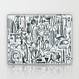 Medical Condition FADED DENIM / Vintage medical instruments, take two of these and call me in the mo Laptop & iPad Skin