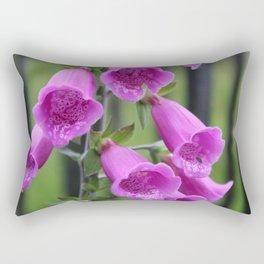 Foxglove Flower Rectangular Pillow